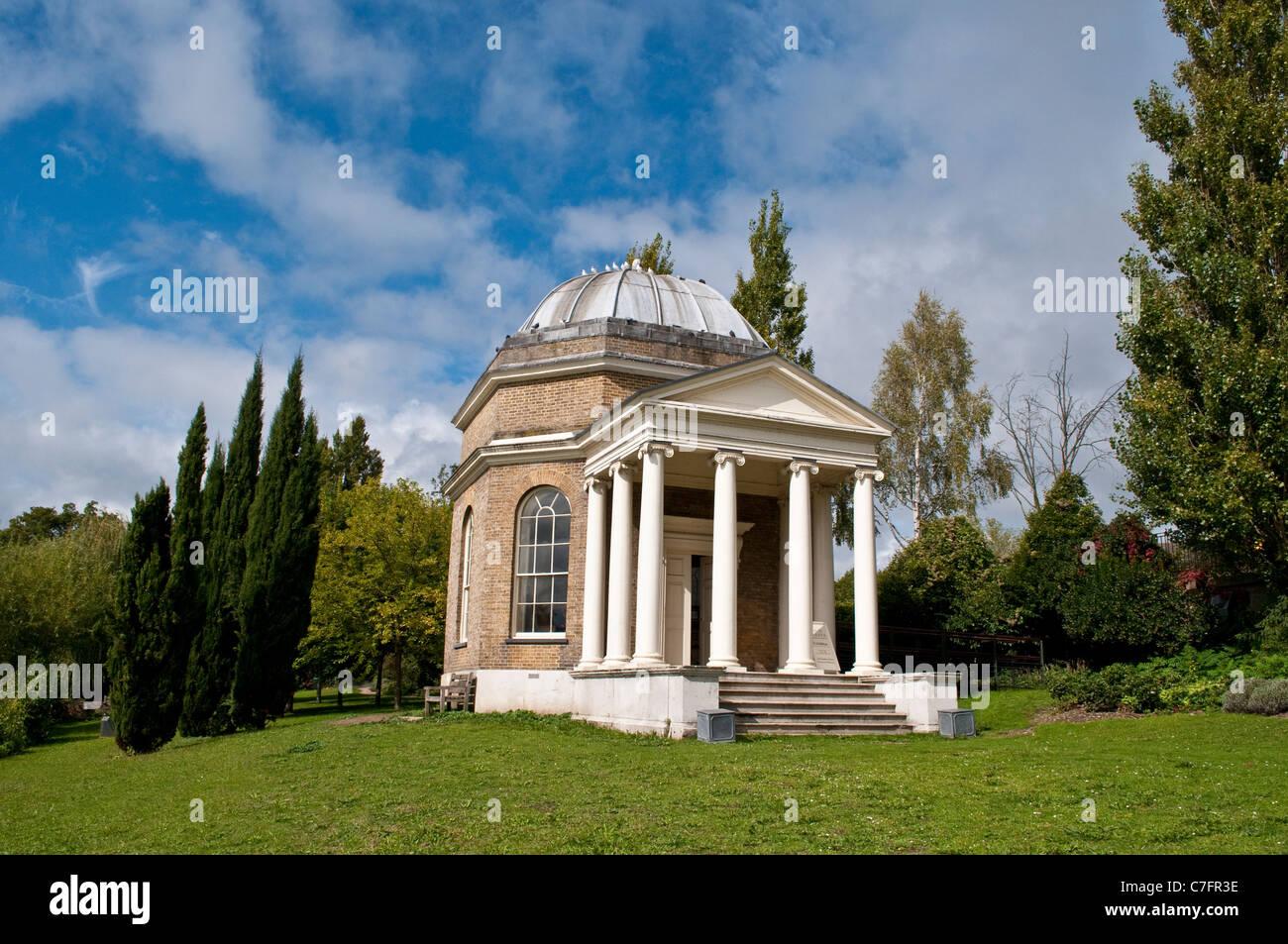 Garrick Tempel, Shakespeare, Hampton, Surrey, England, UK Stockbild