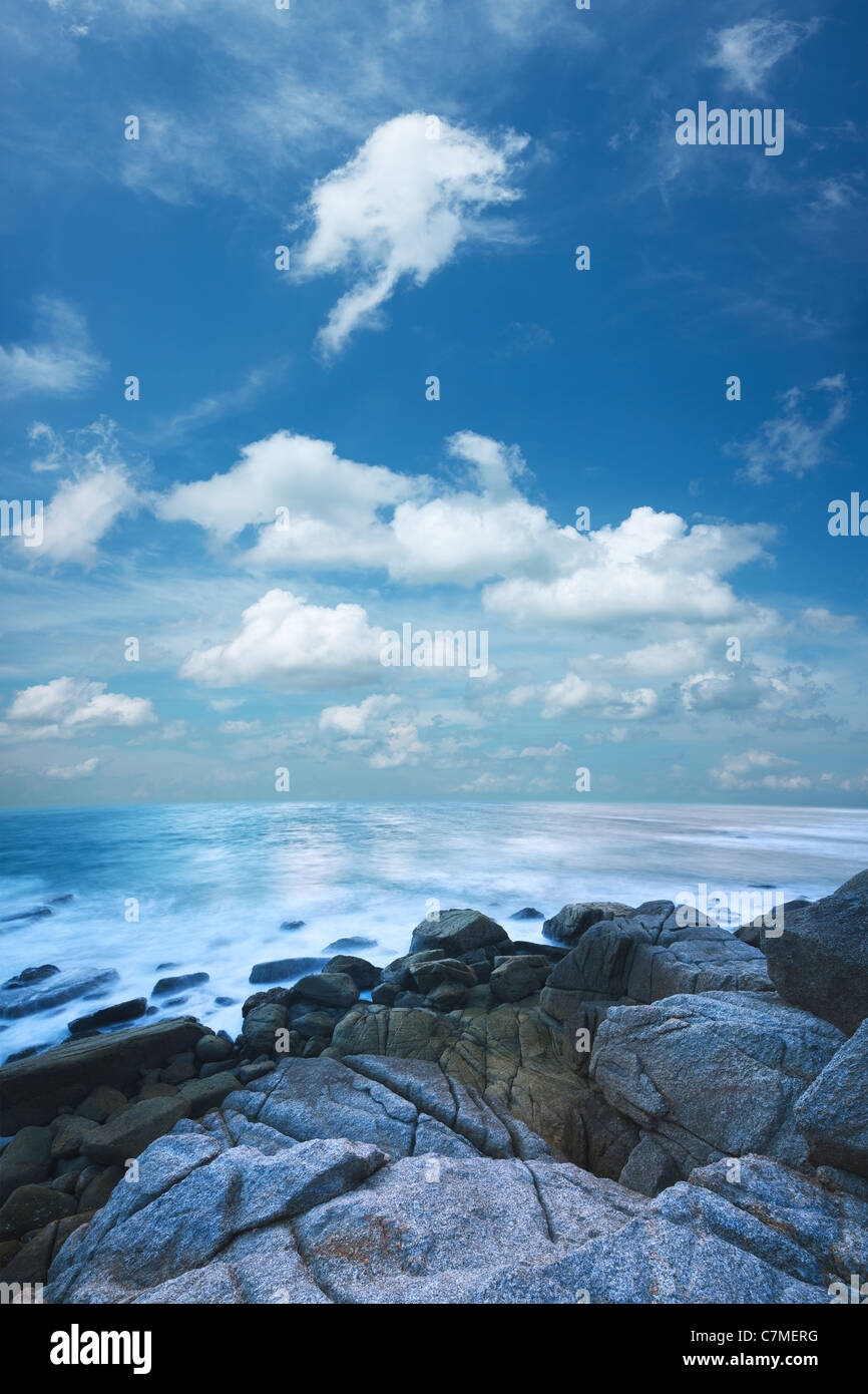Schönen Guten Morgen Meer Landschaft Vertikale