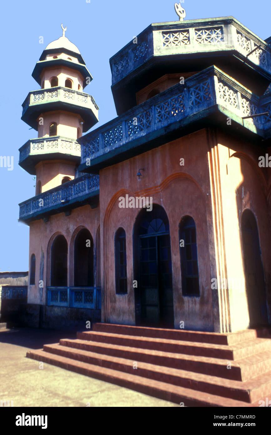 Traditionellen Moschee in Freetown, Sierra Leone, Westafrika Stockbild
