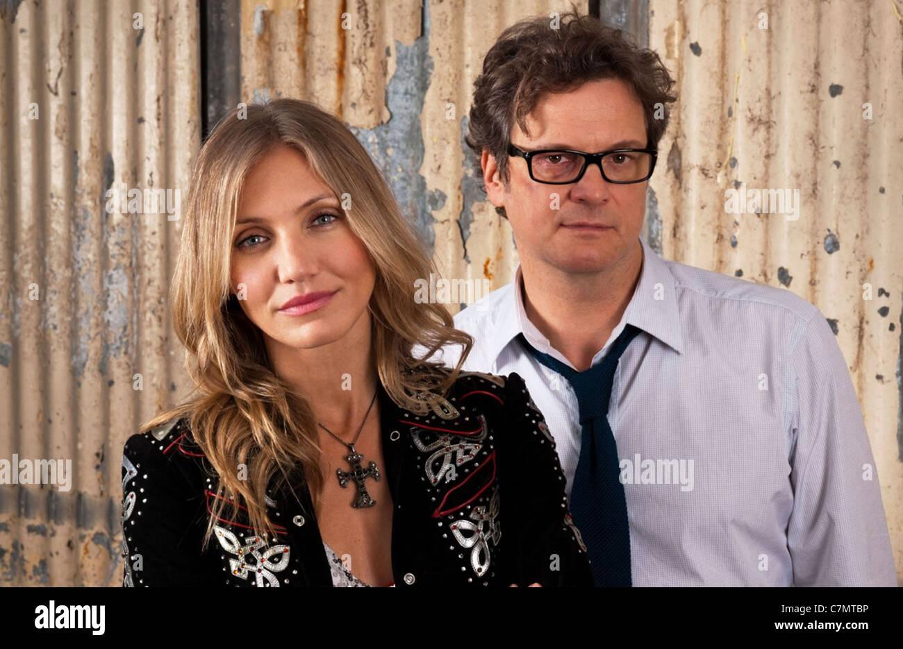 GAMBIT 2012 Kriminalität Szene Bilder Film mit Cameron Diaz und Colin Firth Stockbild