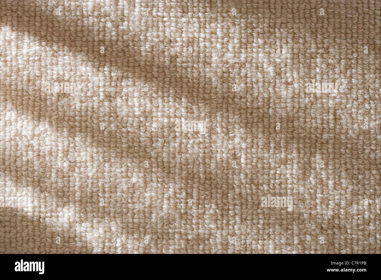 Teppich in der Nähe. Stockbild
