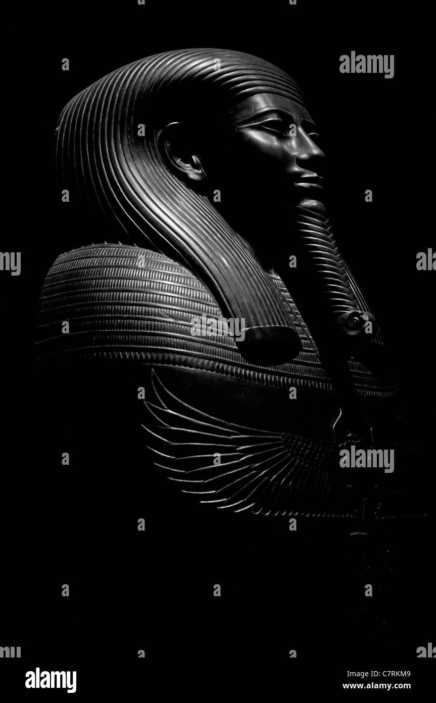 Ägyptische Statue Modell Stockbild