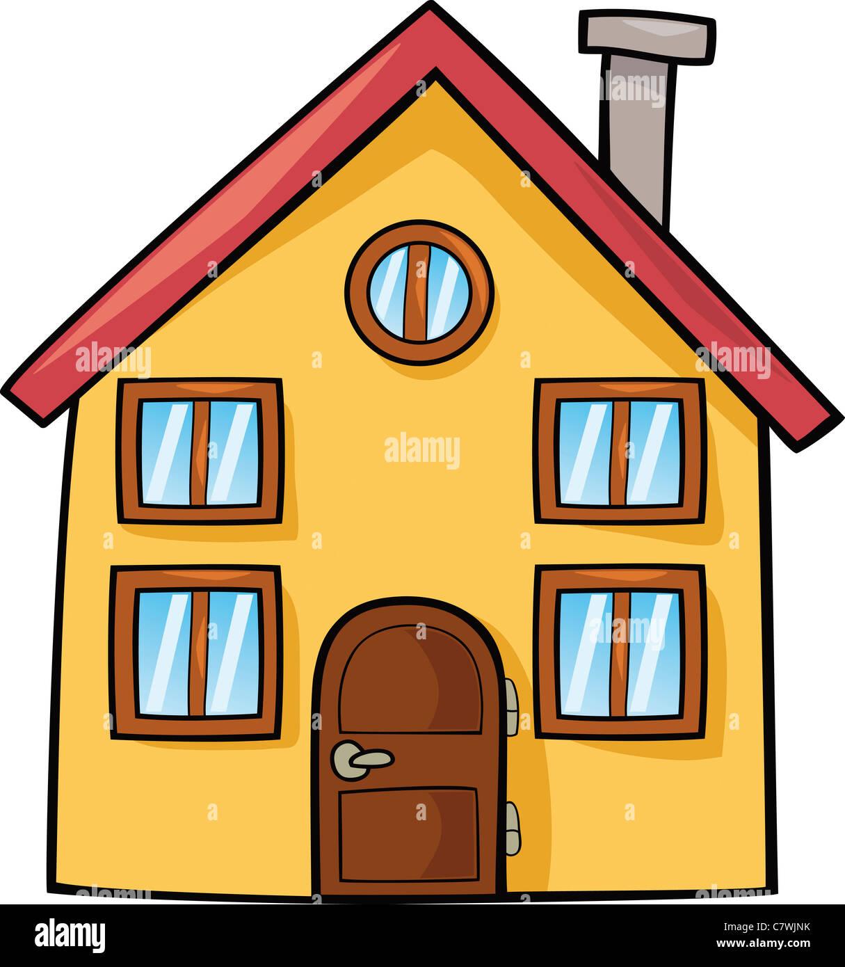 Zeichentrick Haus