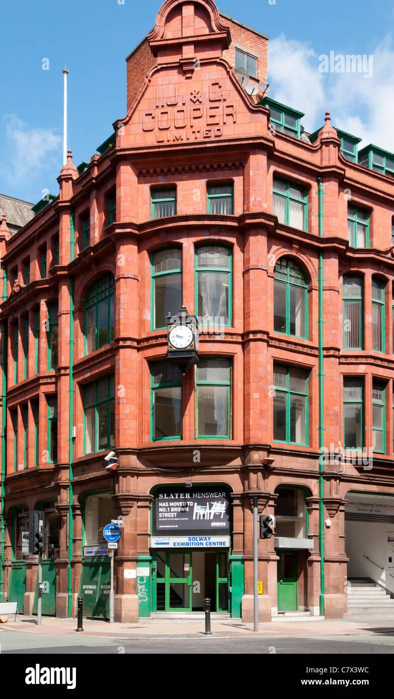 Sevendale House, gebaut für die Gardinen Firma I.J.&G. Cooper Ltd