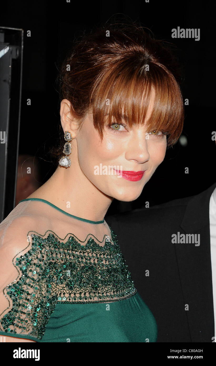 MICHELLE MONAGHAN U.S. Schauspielerin im September 2011. Foto Jeffrey Mayer Stockbild