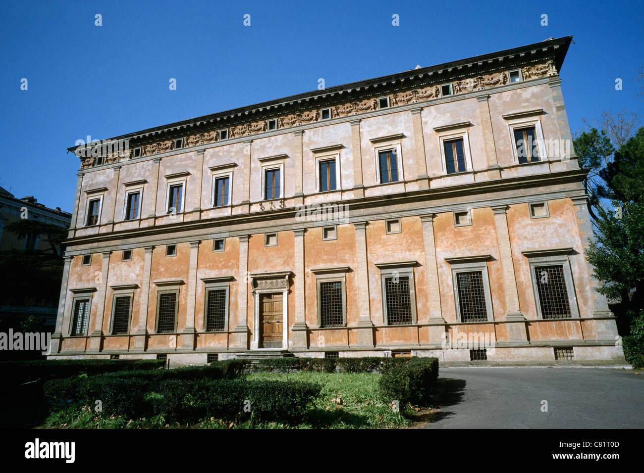 Villa Farnesina Trastevere Rom, Italien. Stockfoto