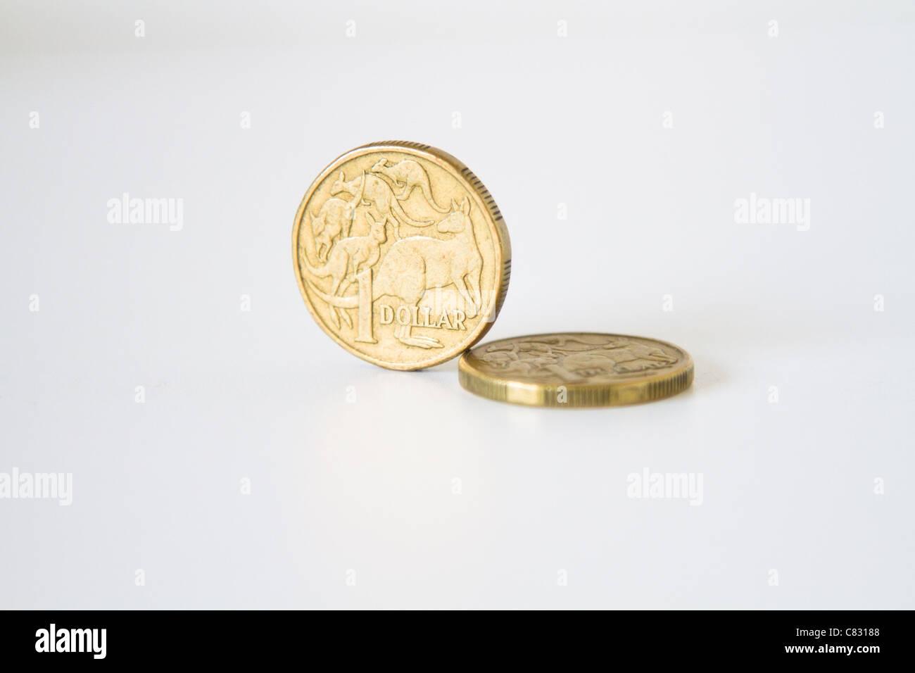Australische Dollar Münze Geld Stockfoto Bild 39404856 Alamy