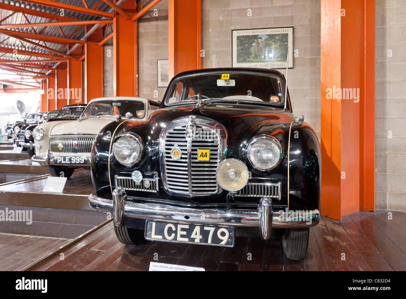 Beaulieu National Motor Museum, New Forest Stockbild