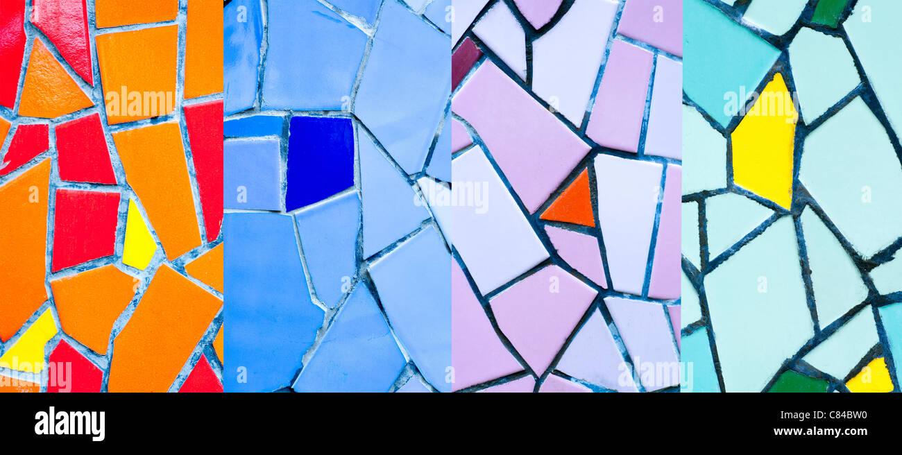 Bunte Mosaik Fliesen Fur Die Wand Stockfoto Bild 39435116 Alamy