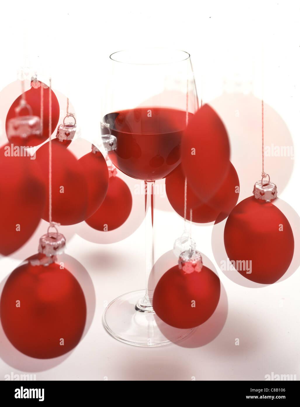 Rote Christbaumkugeln Glas.Christbaumkugeln Glas Rot
