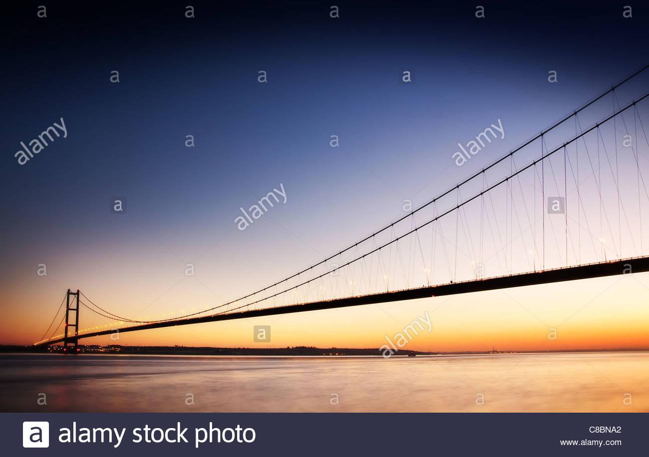Humber Brücke Stockbild