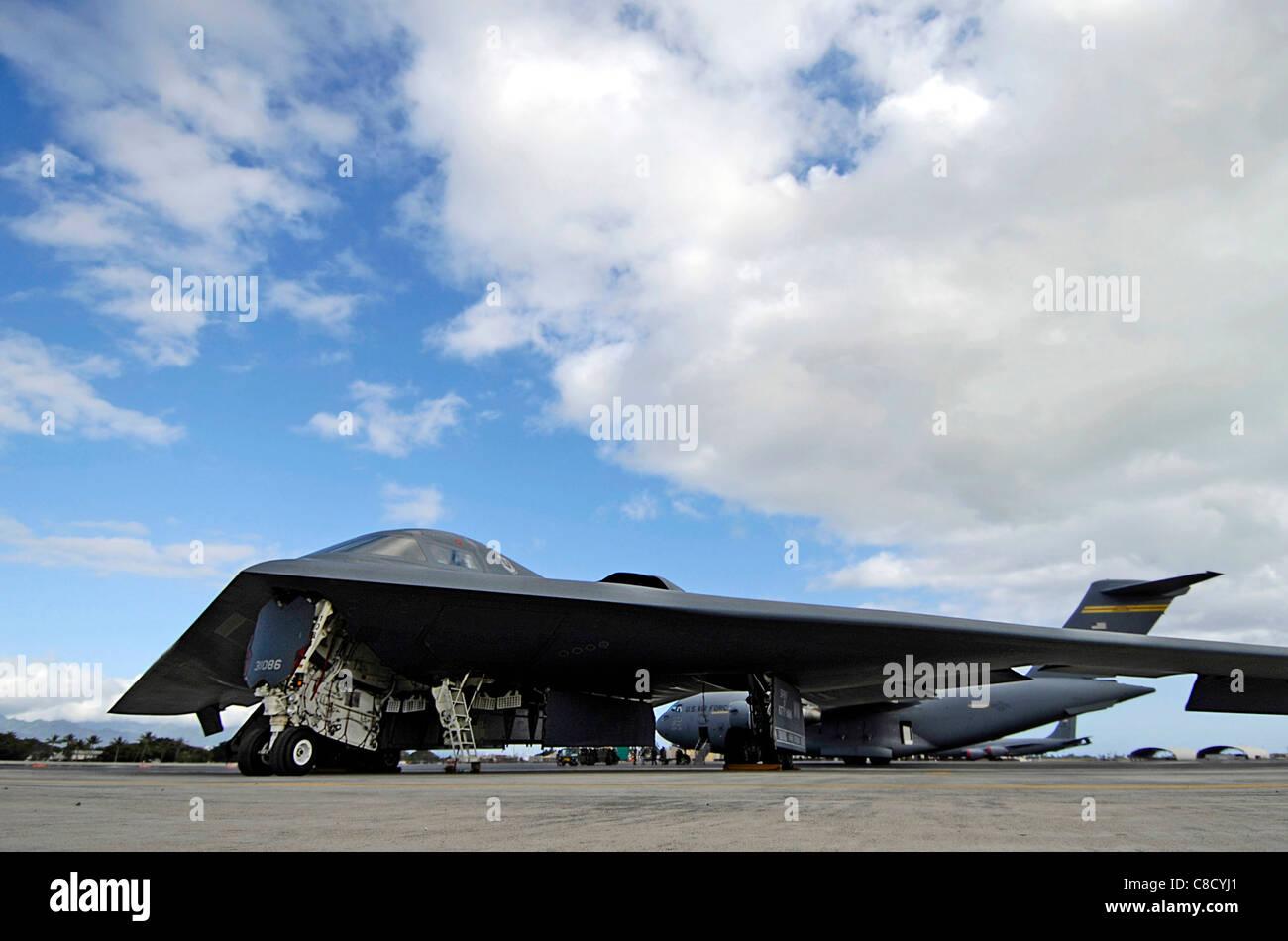 B 2 Spirit Tarnkappenbomber Hickam Air Force Base, Hawaii ...