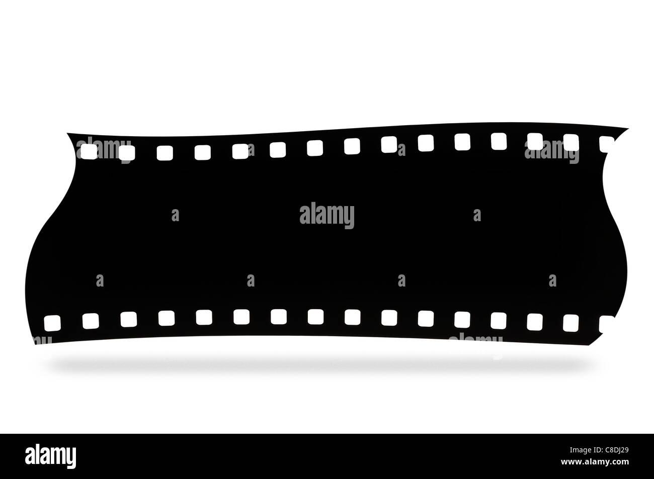 Film Fotografie Foto Bild isoliert Klebeband weiße Roll Rahmen alte ...