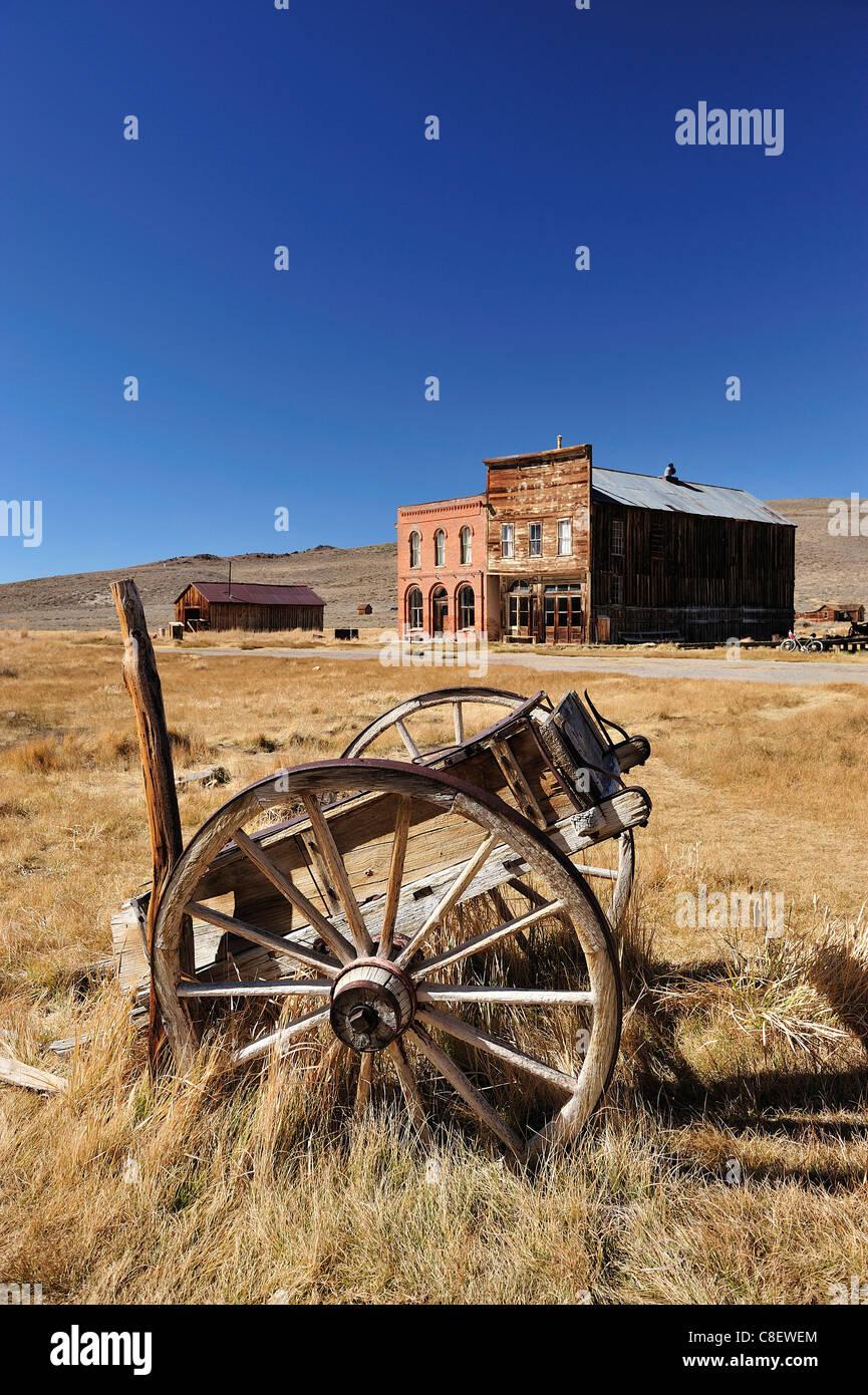 Bodie State, historisch, Park, in der Nähe von Lee Vining, California, USA, USA, Amerika, historische, Feld, Stockbild