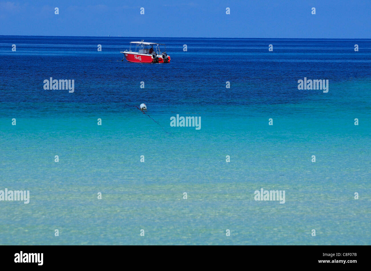 Türkis, Wasser, Sai Ree, Beach, Koh Tao, Thailand, Asien, Boot Stockbild