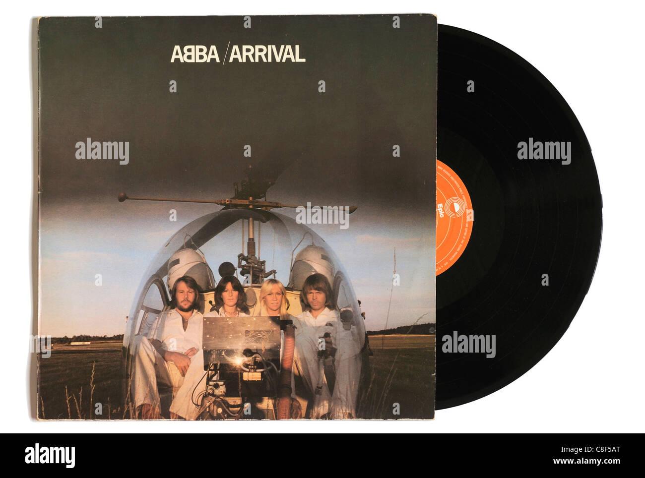 ABBA-Ankunft album Stockbild