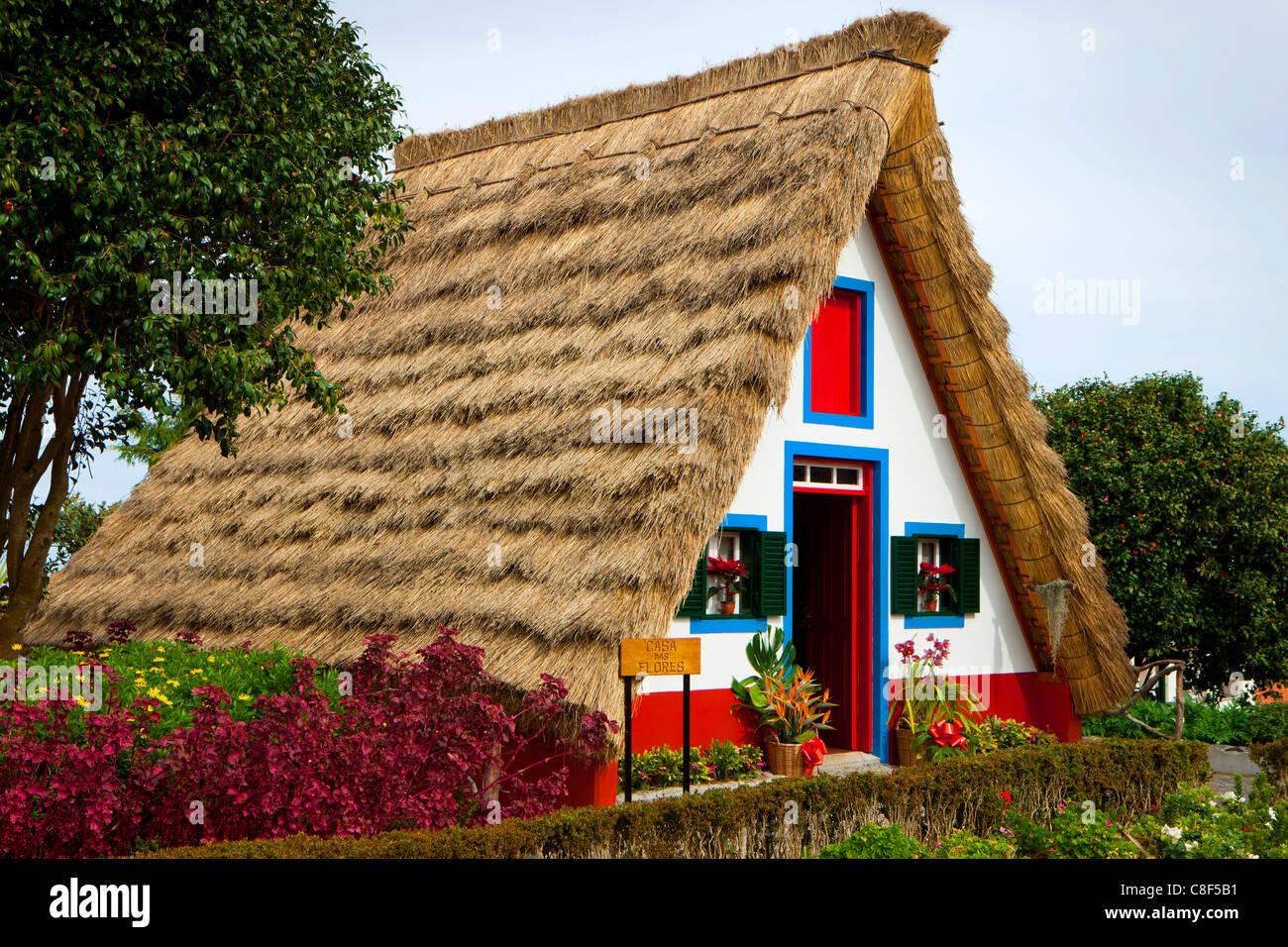santana portugal europa madeira casas de colmo