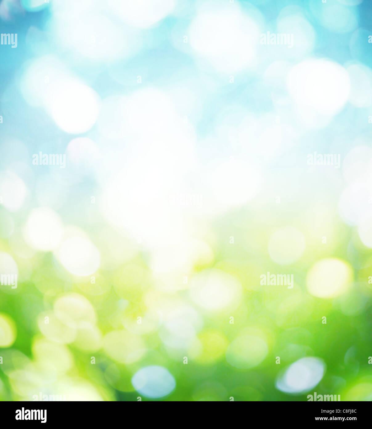 Natur Hintergrund weichzeichnen. Stockbild