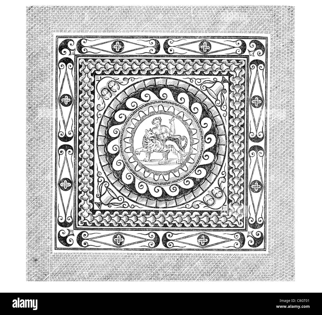 Ungewöhnlich Römische Mosaikschablonen Zeitgenössisch - Beispiel ...