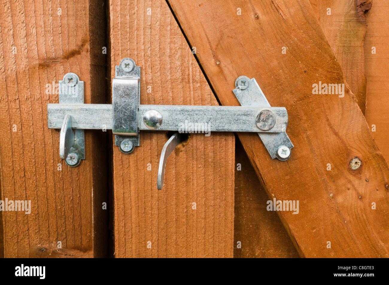 gartentor riegel stockfoto, bild: 39708427 - alamy