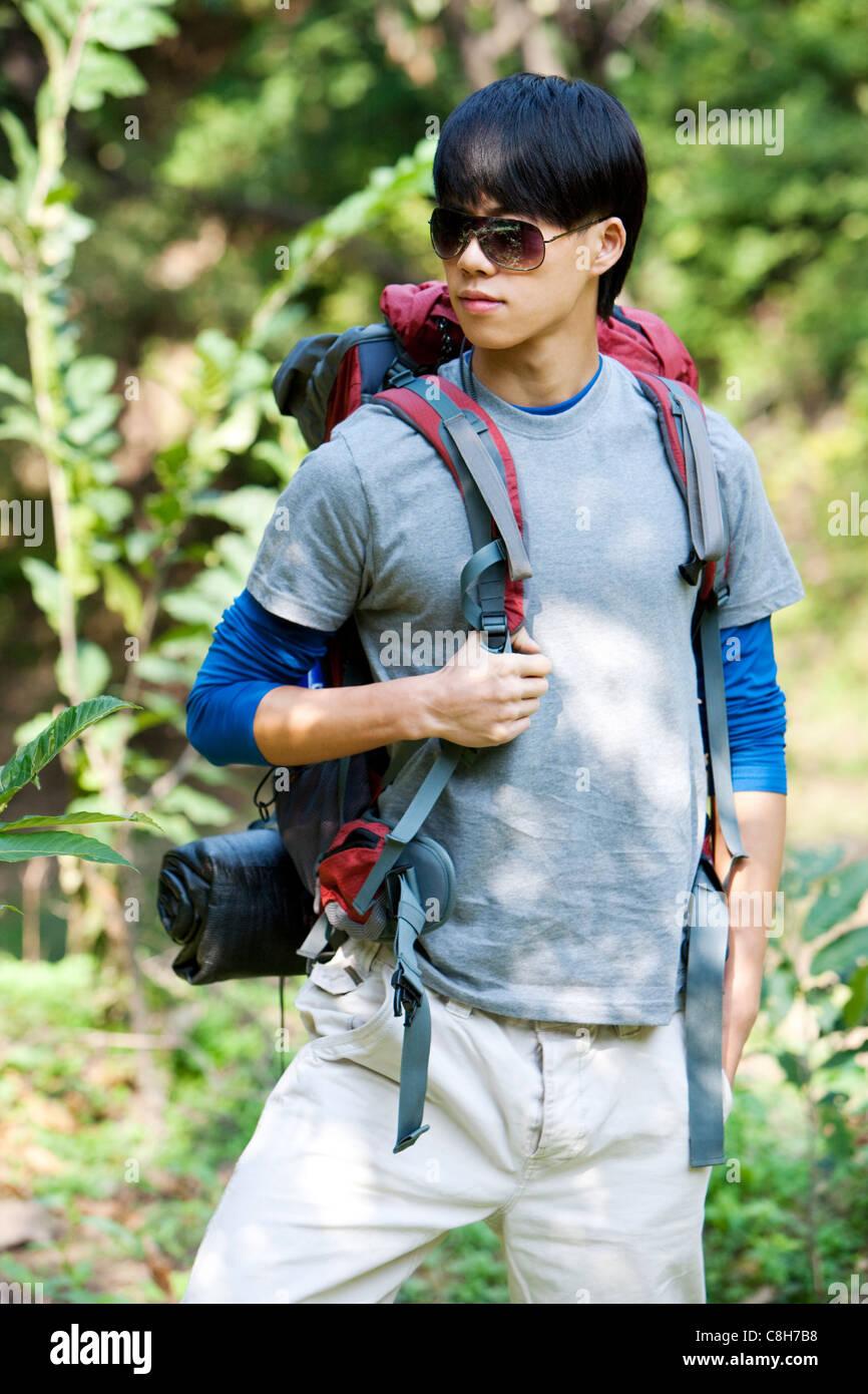 Cool Wanderer Stockbild