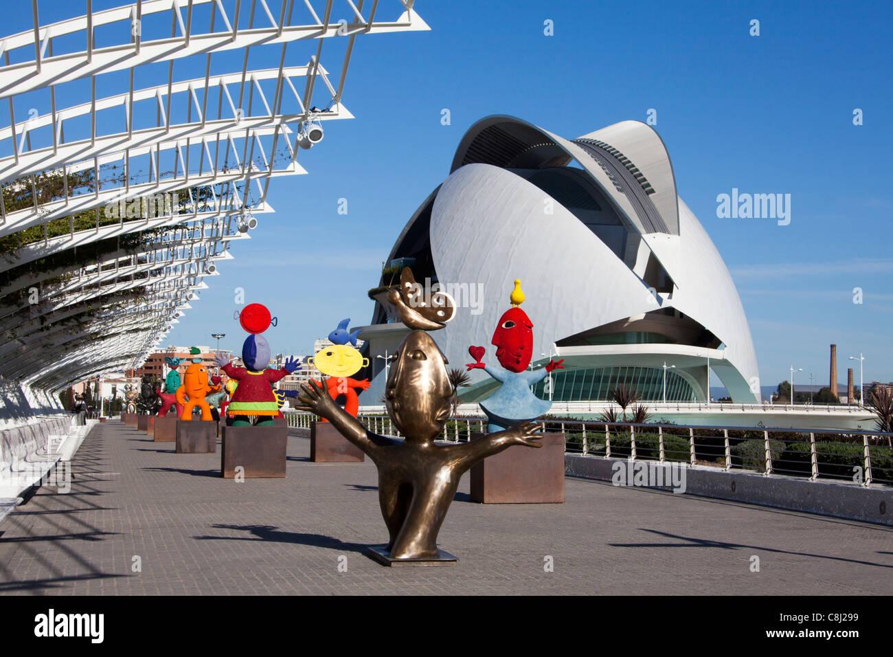 Spanien europa valencia stadt der k nste und for Architektur valencia
