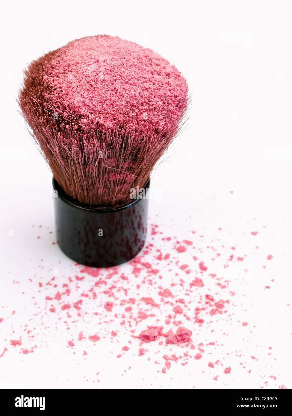 Mineral Make-up Stockbild