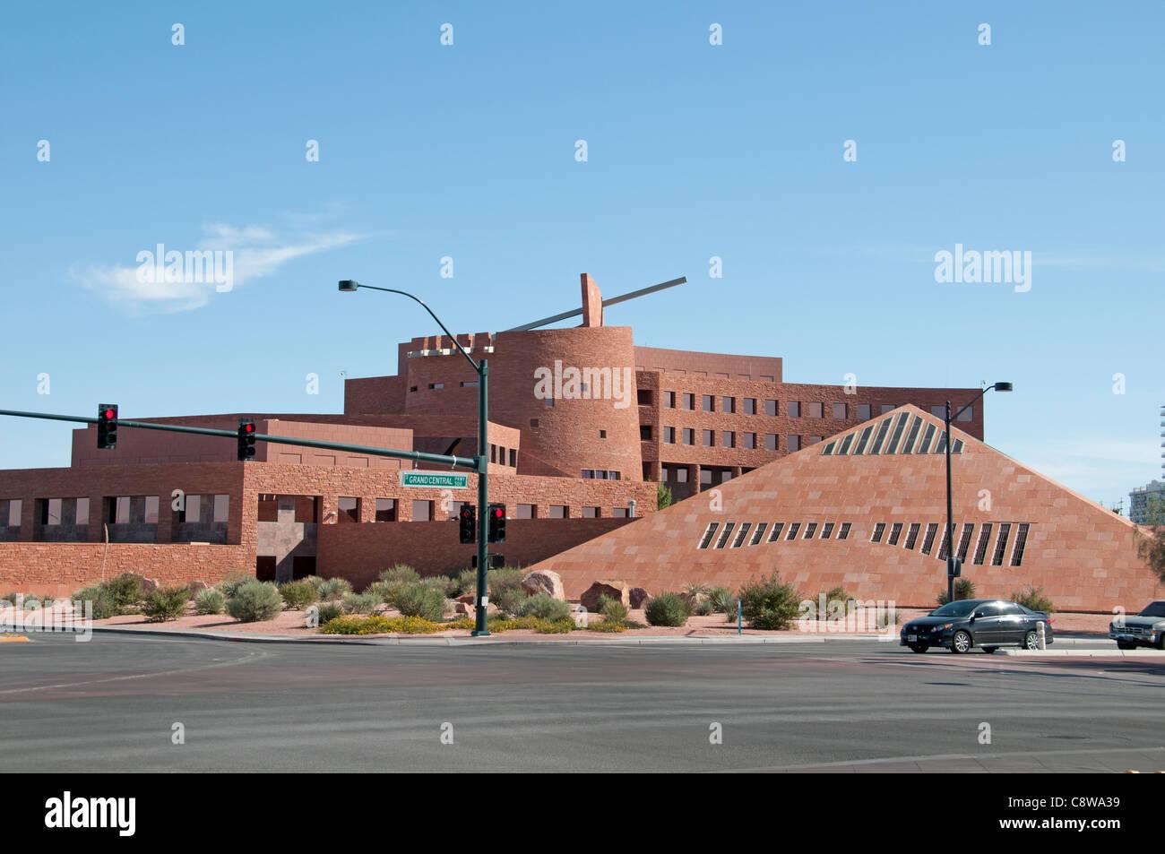 Las Vegas Clark County Government Center USA Nevada Stockbild