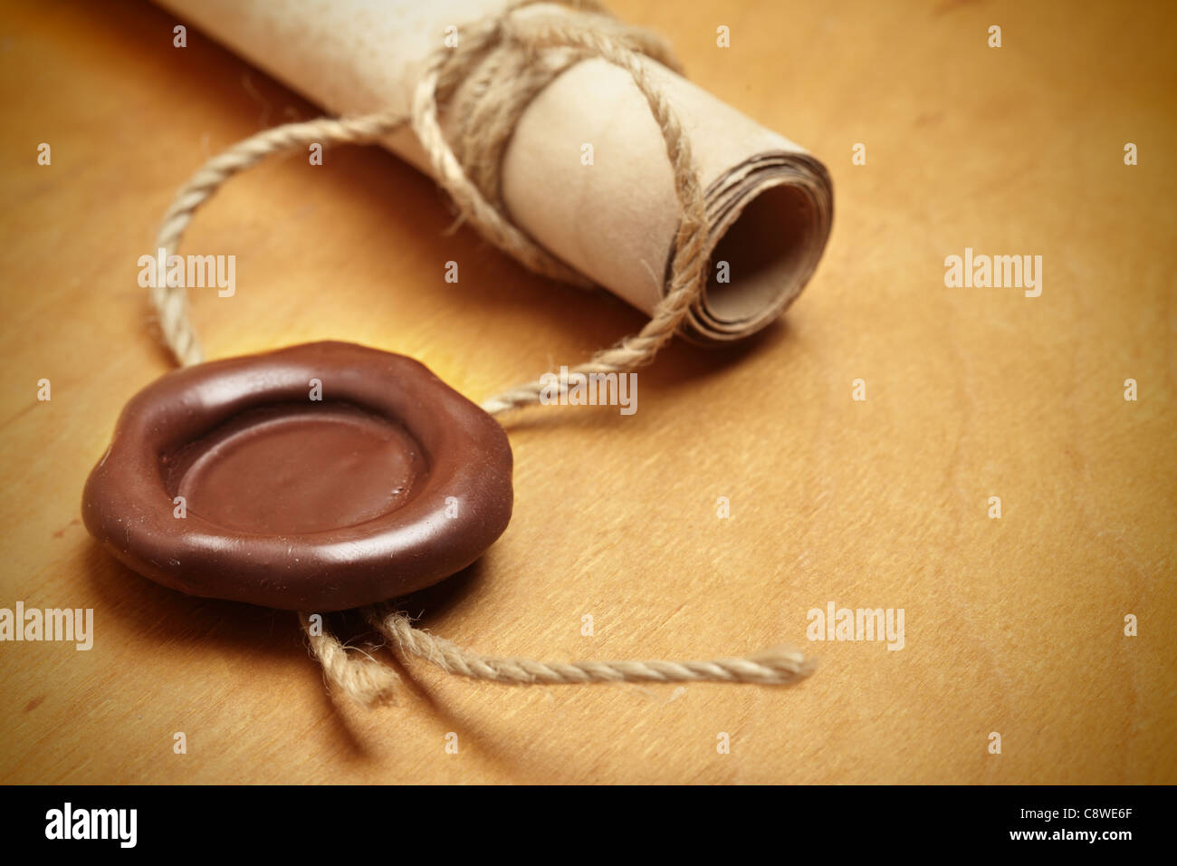 close up wax seal on stockfotos close up wax seal on bilder alamy. Black Bedroom Furniture Sets. Home Design Ideas