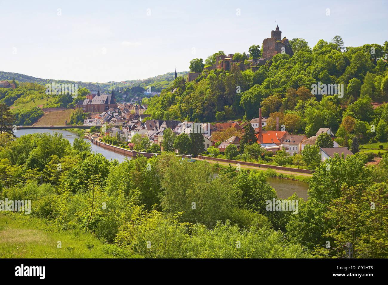 Saarburg an der Saar, Rheinland-Pfalz, Deutschland, Europa Stockfoto ...