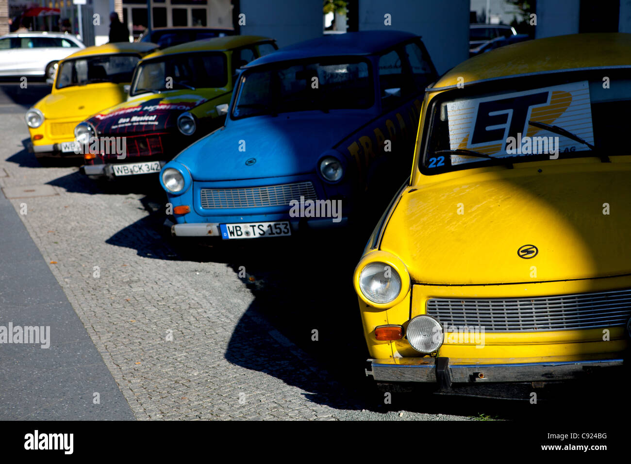 trabant car stockfotos trabant car bilder alamy. Black Bedroom Furniture Sets. Home Design Ideas