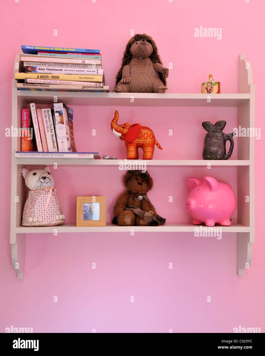 Rosa ist eine beliebte Farbe für Mädchen Schlafzimmer und ...