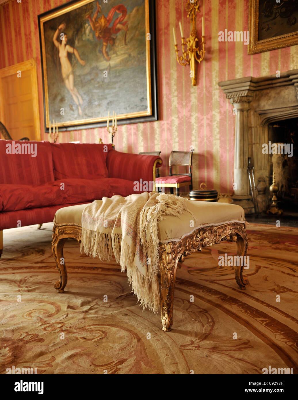 Plas Teg ist ein Klasse 1 aufgeführten eindrucksvolle und interessante Landhaus in Nord-Wales. Es wurde liebevoll Stockbild