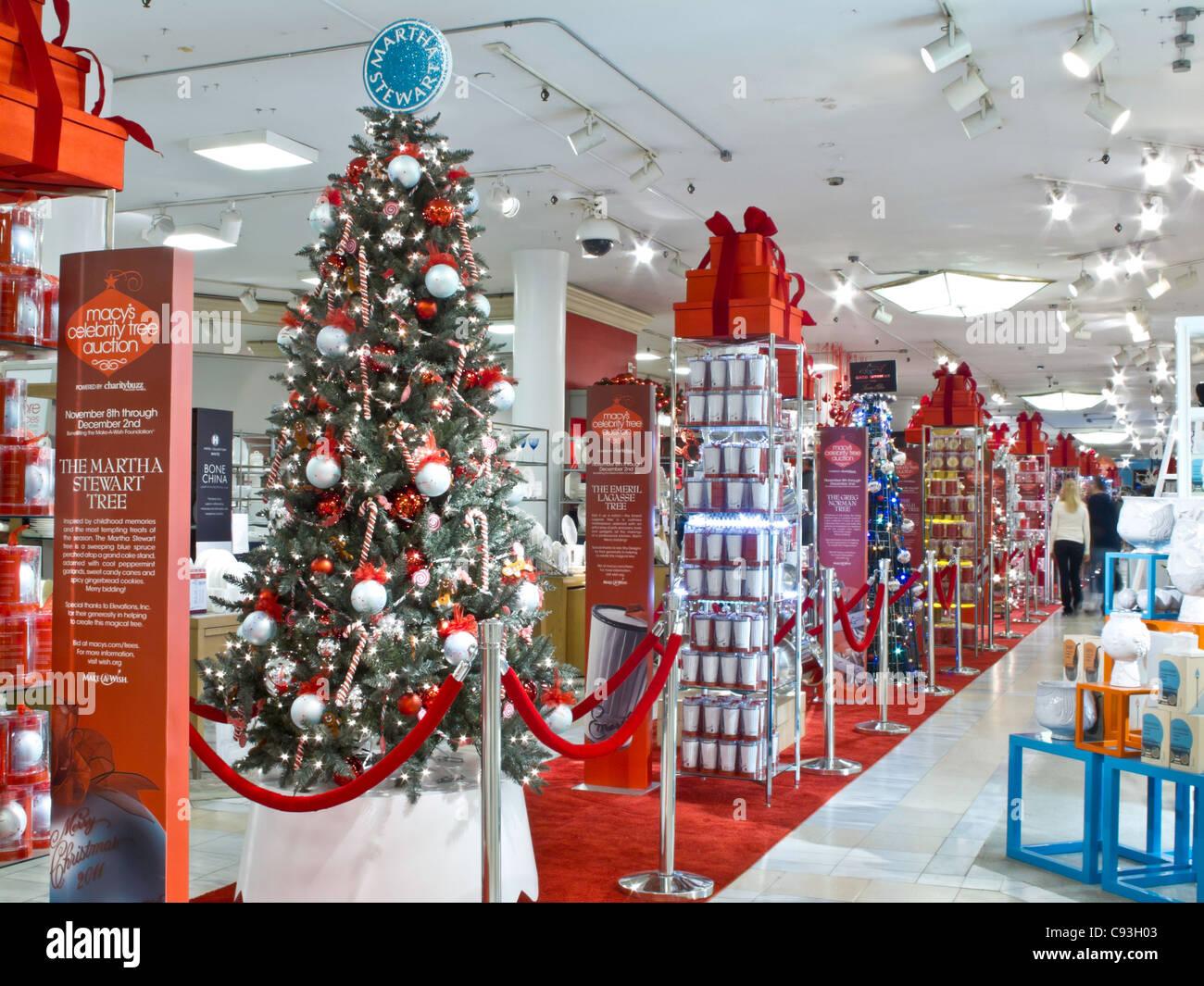 Macys Kaufhaus, Weihnachten zeigt, NYC Stockfoto, Bild: 40031827 - Alamy