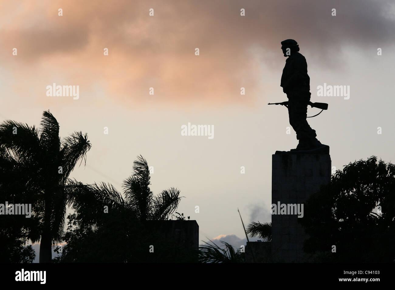 Denkmal und das Mausoleum von Ernesto Che Guevara in Santa Clara, Kuba. Stockbild