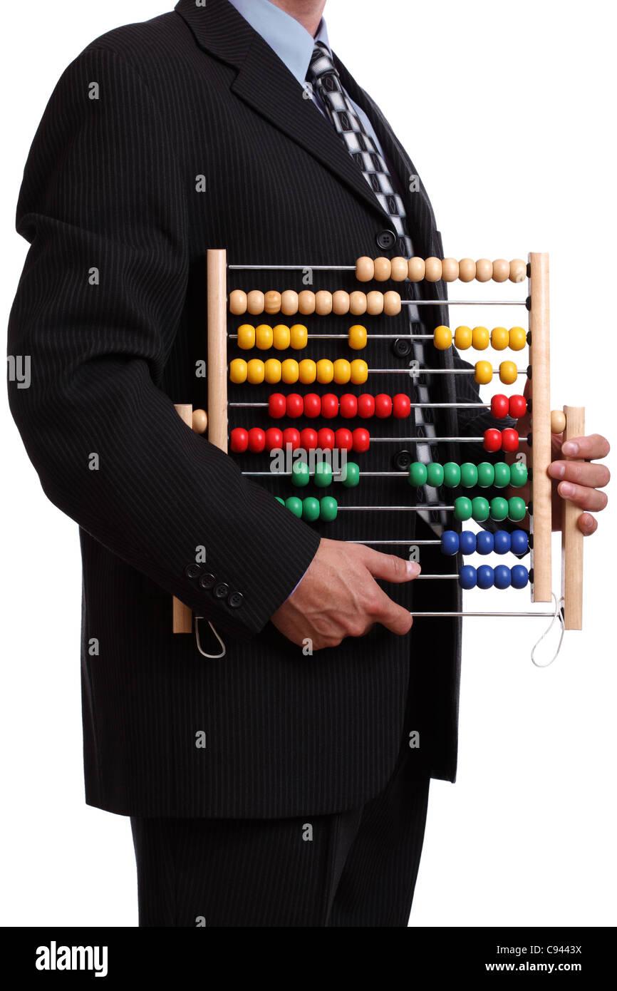 Finanzberater Stockbild