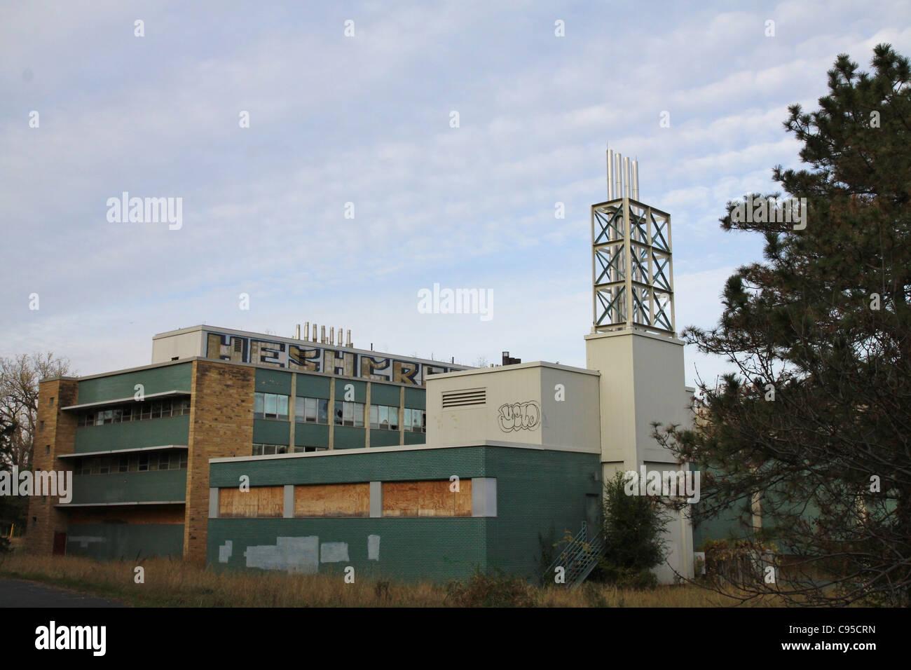 Das verlassene U. S. Bureau of Mines Gebäude in Minneapolis, Minnesota. Stockfoto