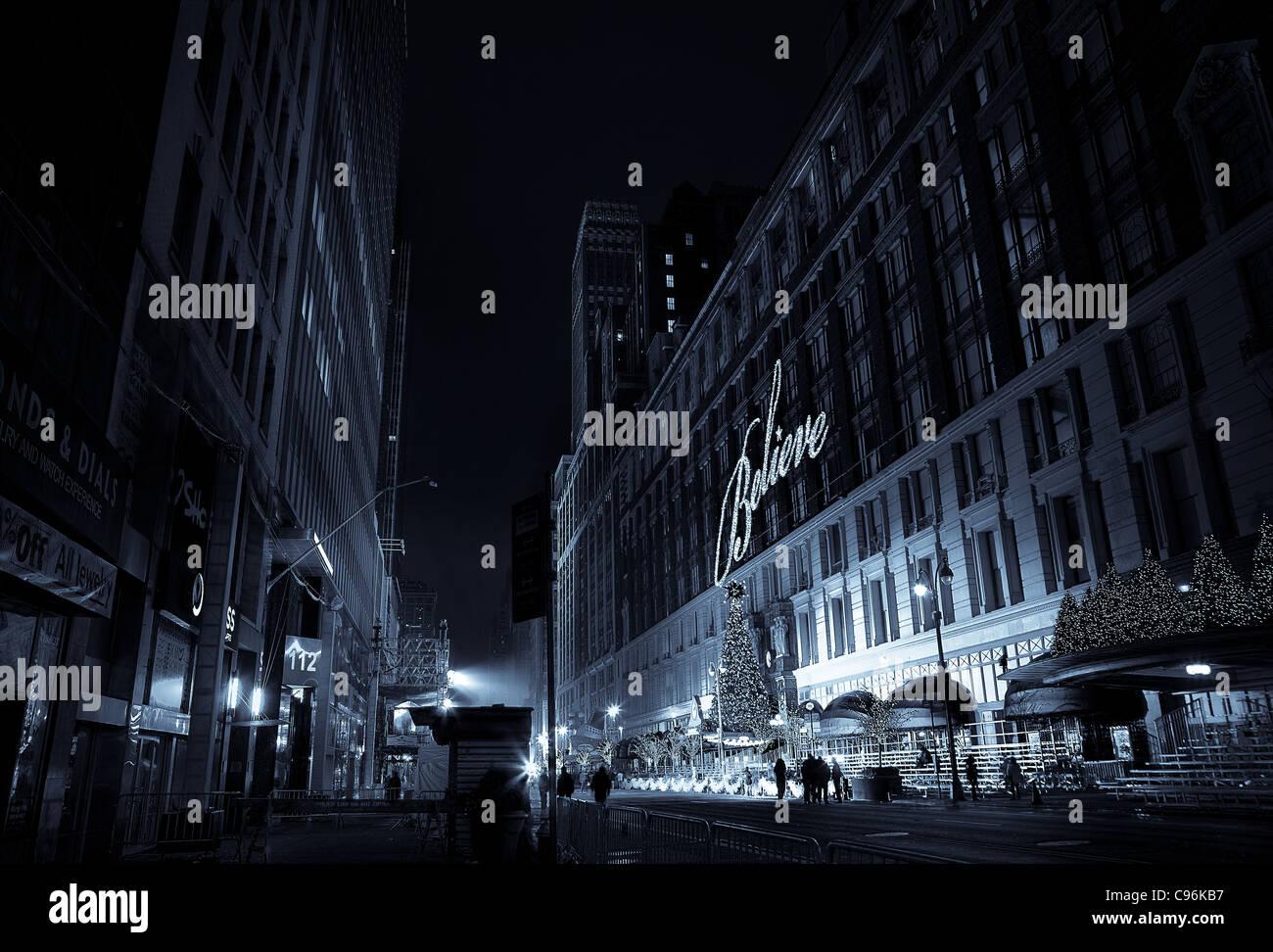 New York City Weihnachten Stockfotos & New York City Weihnachten ...