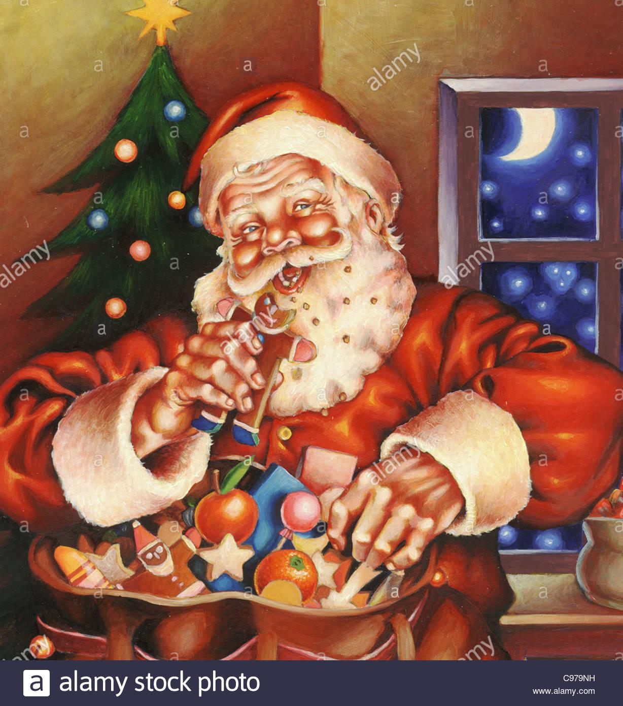 lustige Weihnachtsmann Nikolaus Witz lustig Humor lustig lustig ...