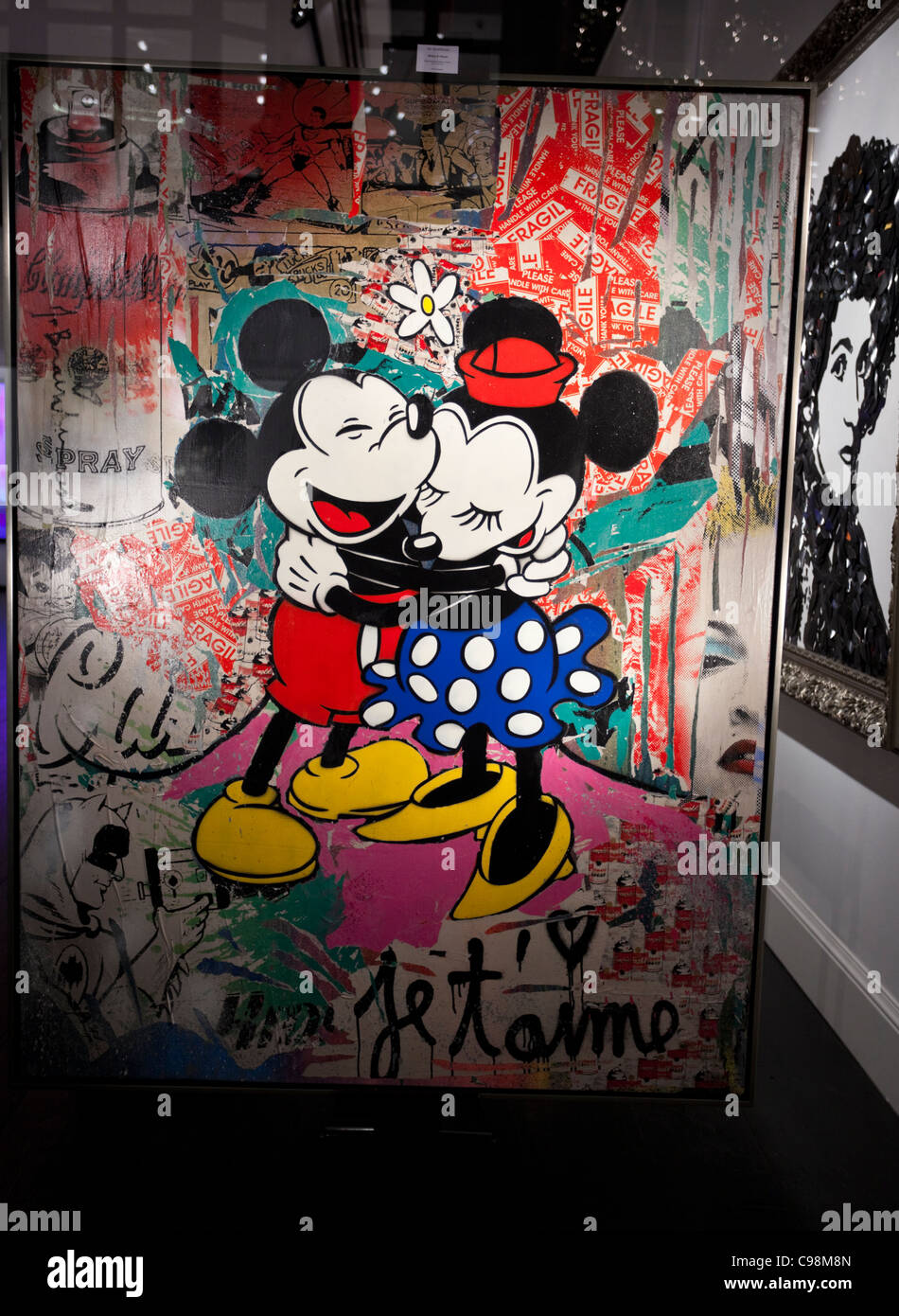 minnie mouse stockfotos minnie mouse bilder alamy. Black Bedroom Furniture Sets. Home Design Ideas