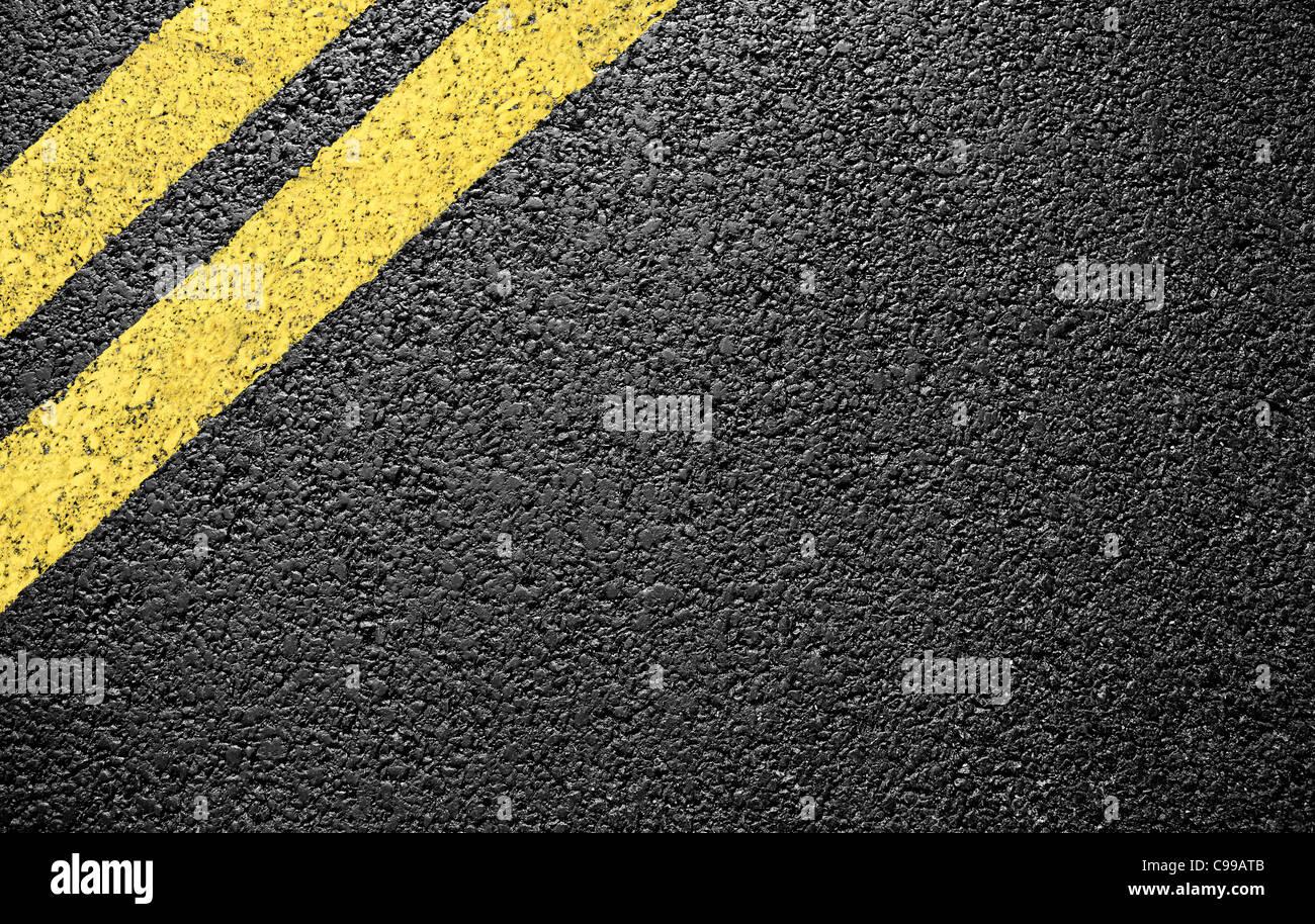Asphalt als abstrakten Hintergrund oder Hintergrund Stockfoto