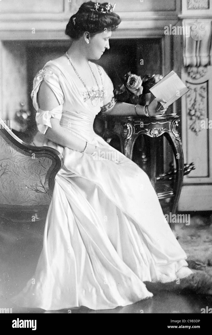 Prinzessin Heinrich von Preußen Stockbild