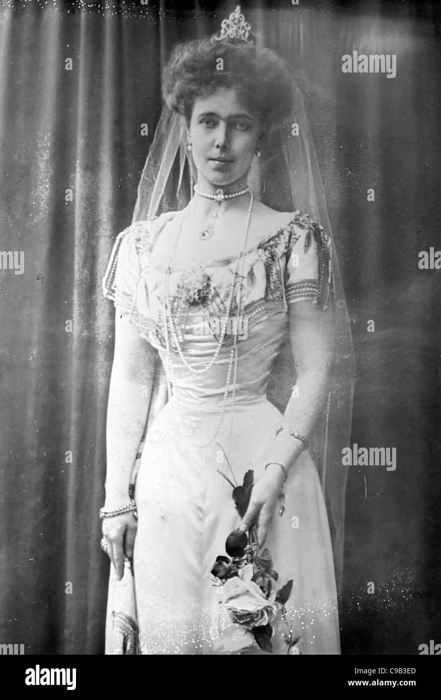 Prinzessin Beatrice von Coburg Stockbild