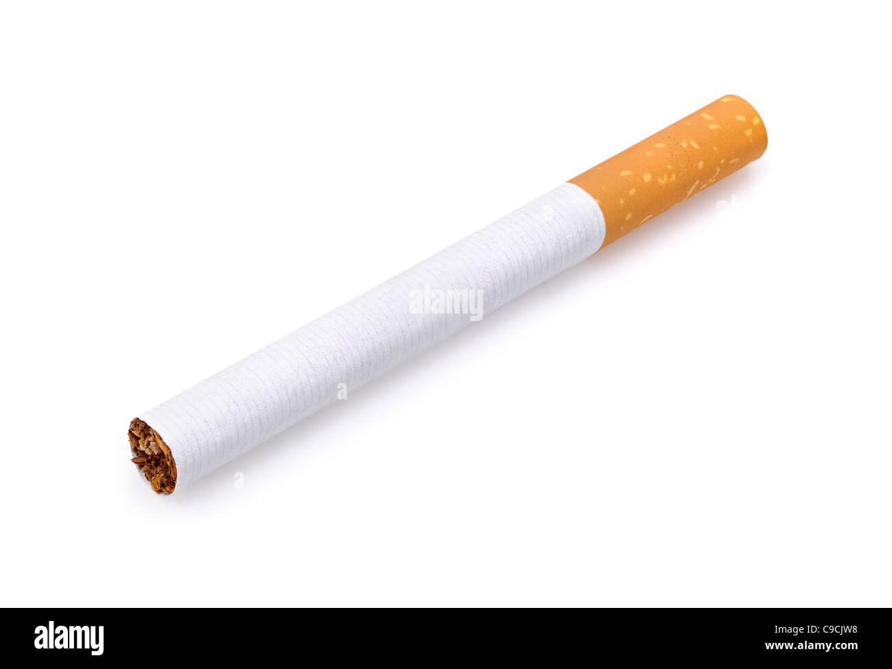 Zigarette, ausschneiden. Stockbild