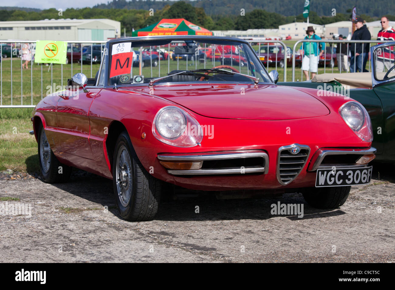 Alfa Romeo Spider veloce 1969 Stockbild