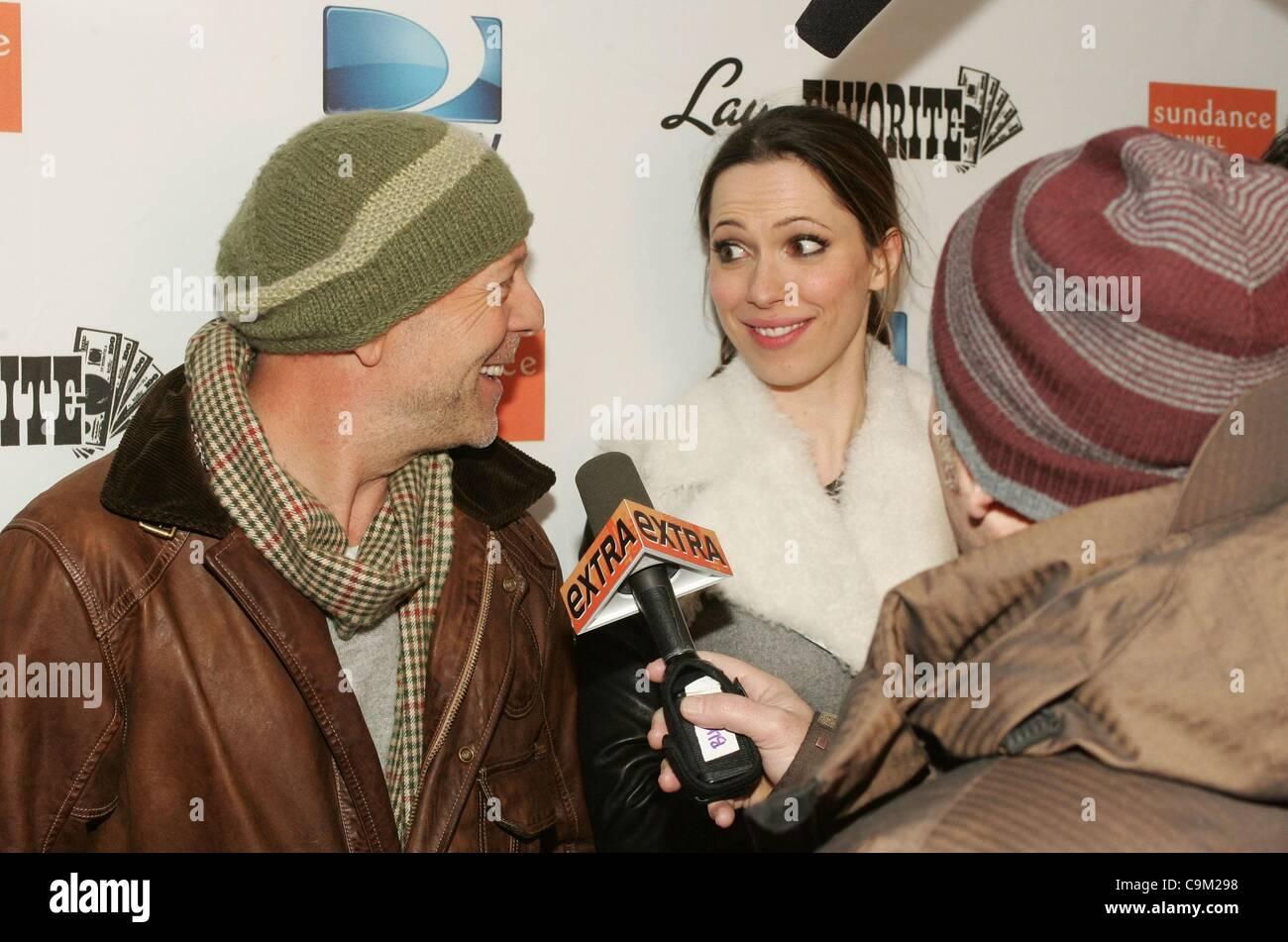 Bruce Willis, Rebecca Hall Auf Der After-Party Für LAY THE