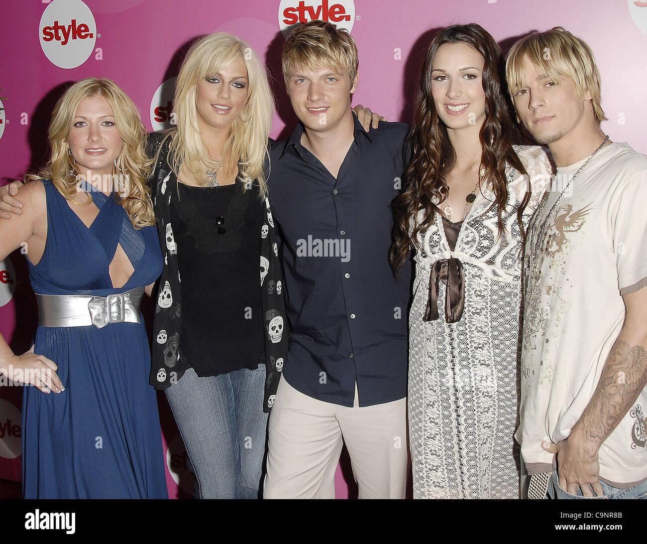11. Juli 2006; Pasadena, Kalifornien, USA; Die Carter Family, von ...