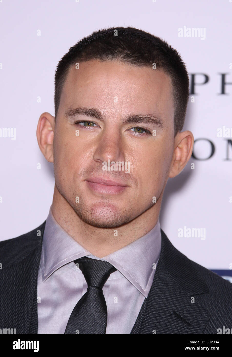 CHANNING TATUM DAS GELÜBDE. Welt PREMIERE HOLLYWOOD LOS ANGELES Kalifornien USA 6. Februar 2012 Stockbild