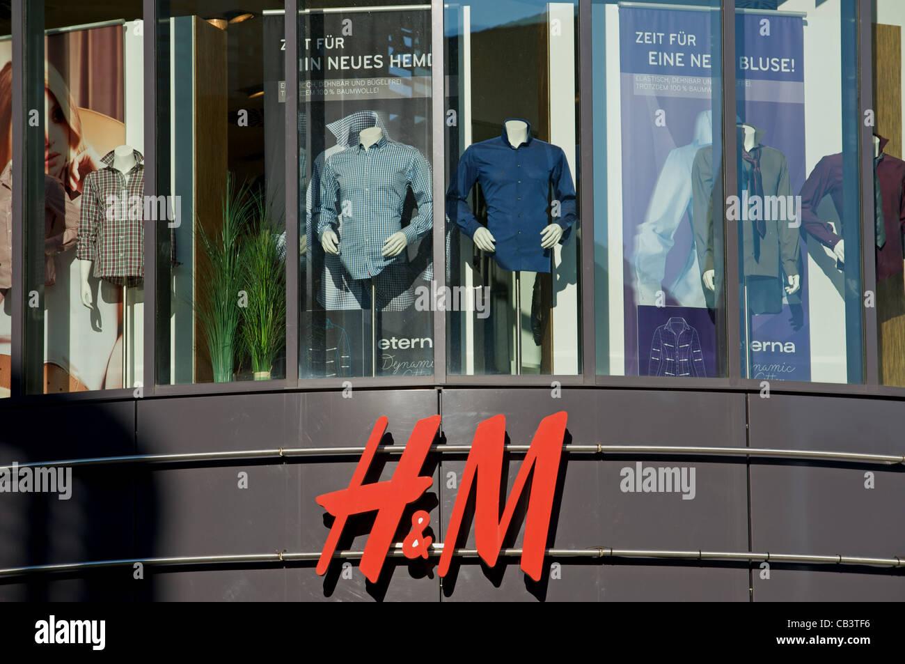 H und m kleider deutschland