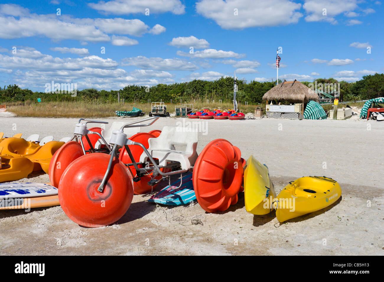 Tigertail Beach, Marco Island, Golfküste, Florida, USA Stockbild